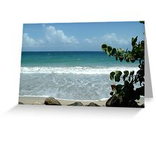 Diamant Beach - Martinique, FWI Greeting Card