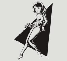 Space Girl #1 by BadMonkeyShop