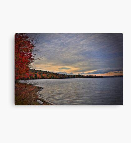 New York's Salmon river reservoir  I Canvas Print