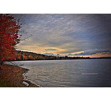 New York's Salmon river reservoir  I Photographic Print