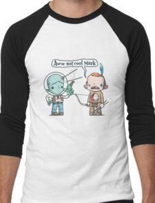 Not Cool Men's Baseball ¾ T-Shirt