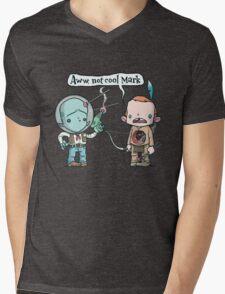 Not Cool Mens V-Neck T-Shirt