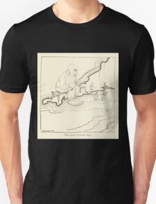 Snickerty Nick art by Arthur Rackham 1919 0057 The Great Cornish Ogre T-Shirt