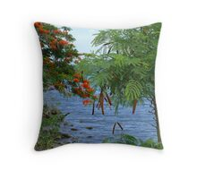 Sea - Martinique, FWI Throw Pillow