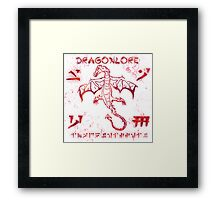 dragonlore Framed Print