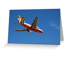 10 Tanker Water Carrier - 911 Greeting Card