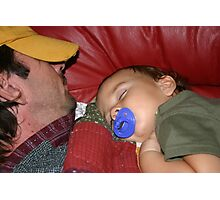 Shhhhh...it's nap time! Photographic Print