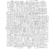 Blocks Udesign  Photographic Print
