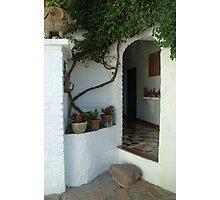 La Puerta de Casa Fresa Photographic Print