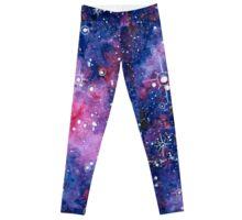 Purple Galaxy Leggings