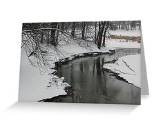 The River of Dreams Greeting Card