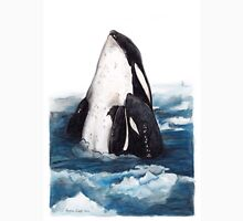Orca and Baby (Killer Whale) Unisex T-Shirt
