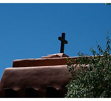 Cross in the Shadow Photographic Print