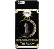 Dark Sun Gwyndolin The Moon Tarot Card  iPhone Case/Skin