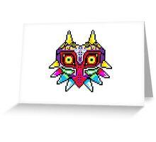 8-bit Majora's Mask Greeting Card