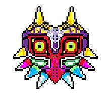 8-bit Majora's Mask Photographic Print