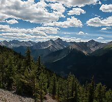 Sulphur Mountain View by Kristin Repsher