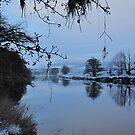 Banks of the River Deveron, Rothiemay, Aberdeenshire, Scotland Christmas 2009 by DeborahDinah