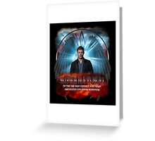 Supernatural I'm the one who gripped you tight and raised you from Perdition Greeting Card