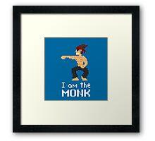 I am the (gentlem'n) Monk Framed Print