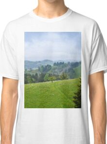 an awesome Switzerland landscape Classic T-Shirt