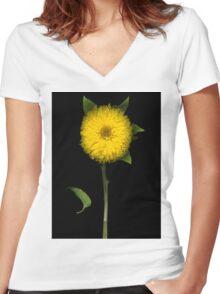 Sunflower Women's Fitted V-Neck T-Shirt