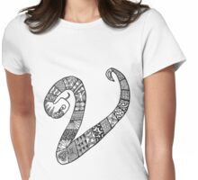 Snake Vision Womens Fitted T-Shirt