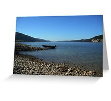 Lac Joux Greeting Card