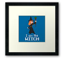 I am the Witch Framed Print