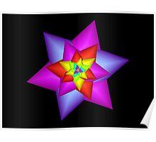 Star Flower Poster