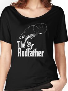 The Rodfather Fishing T Shirt Women's Relaxed Fit T-Shirt
