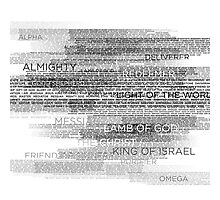 Names of God Photographic Print