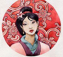 - Mulan - by Losenko  Mila