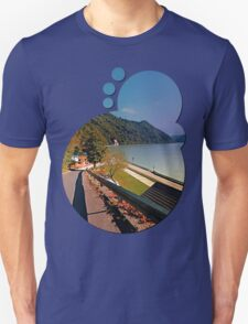 Road into Danube valley | waterscape photography T-Shirt