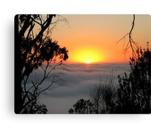 Sunrise from Mount Barker Summit Canvas Print