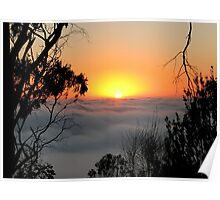 Sunrise from Mount Barker Summit Poster
