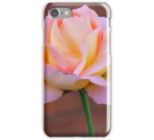 Soft Peach iPhone Case/Skin