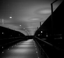 York Uni Bridge B&W by ThePingedHobbit