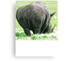 Does My Bum Look Big Here? Canvas Print
