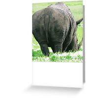 Does My Bum Look Big Here? Greeting Card