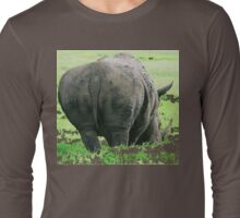 Does My Bum Look Big Here? Long Sleeve T-Shirt