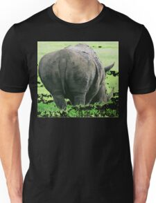 Does My Bum Look Big Here? Unisex T-Shirt