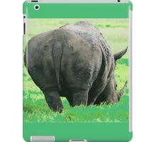 Does My Bum Look Big Here? iPad Case/Skin