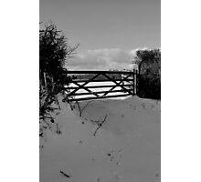 Winter scene 1 Photographic Print