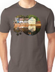 River reflections at the mill | waterscape photography Unisex T-Shirt