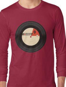 Vintage gramophone  record Long Sleeve T-Shirt
