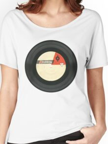 Vintage gramophone  record Women's Relaxed Fit T-Shirt