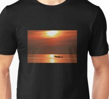 Fiery End to a Day of Fishing Unisex T-Shirt
