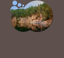 Granite rocks at the natural lake | waterscape photography Unisex T-Shirt