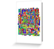 Colorful Udesign Greeting Card